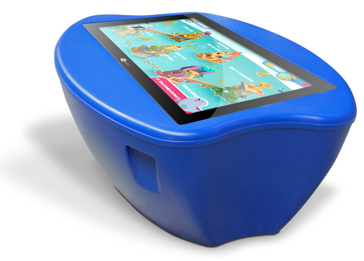 Blue Touchscreen table multiCLASS Kids Table