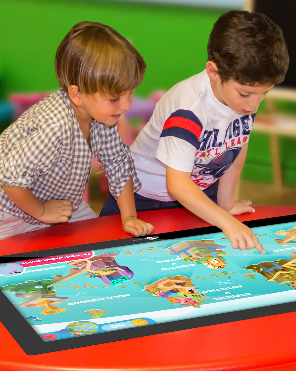 Mesa táctil interactiva infantil multiCLASS Kids Table