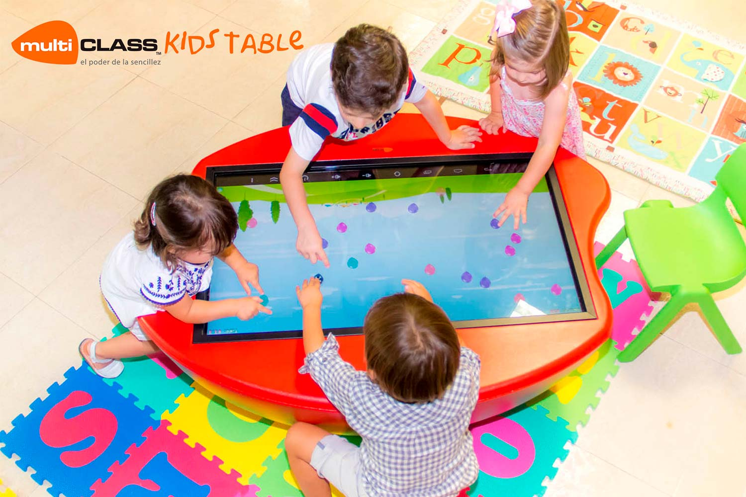Touchscreen table multiCLASS Kids Table education