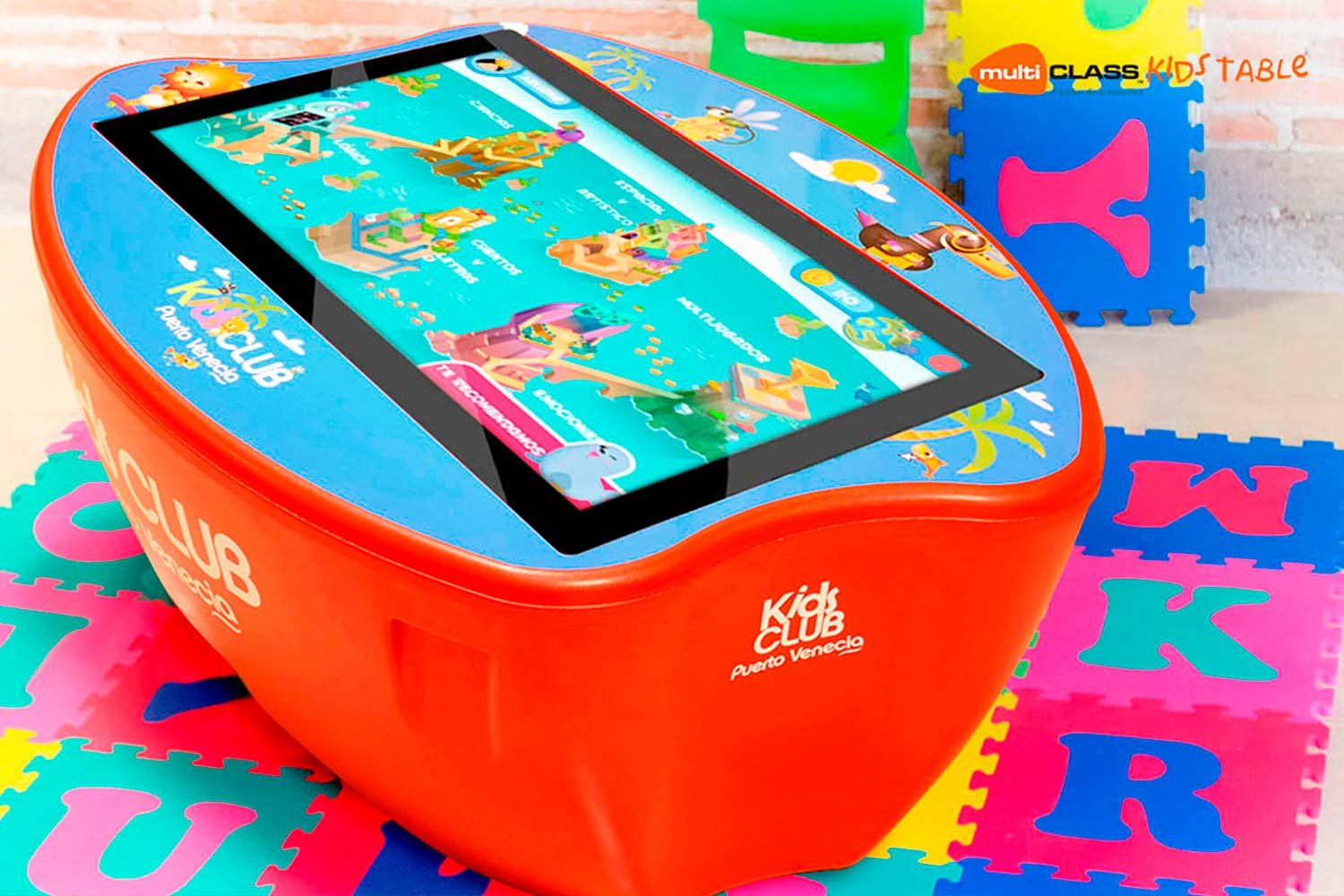 Touchscreen table multiCLASS Kids Table Kids Corners